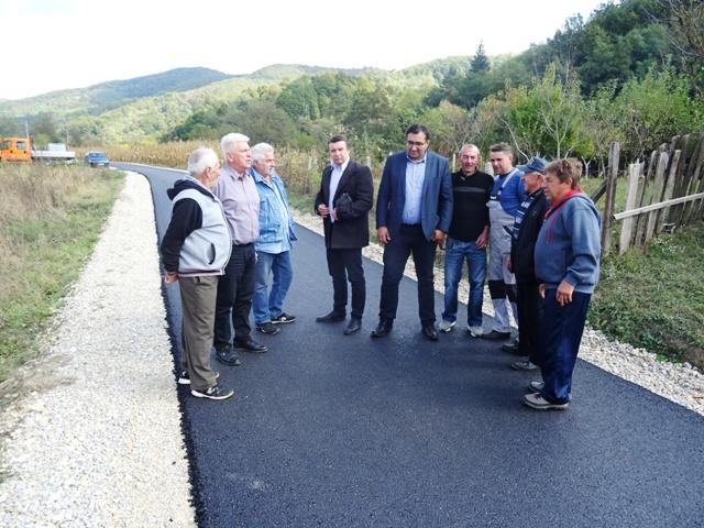Засеок Ваља Маре у МЗ Дубока добио нових 670 метара асфалта