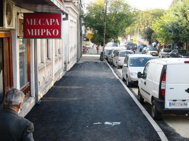 Почело асфалтирање тротоара у ул Слободана Јовића
