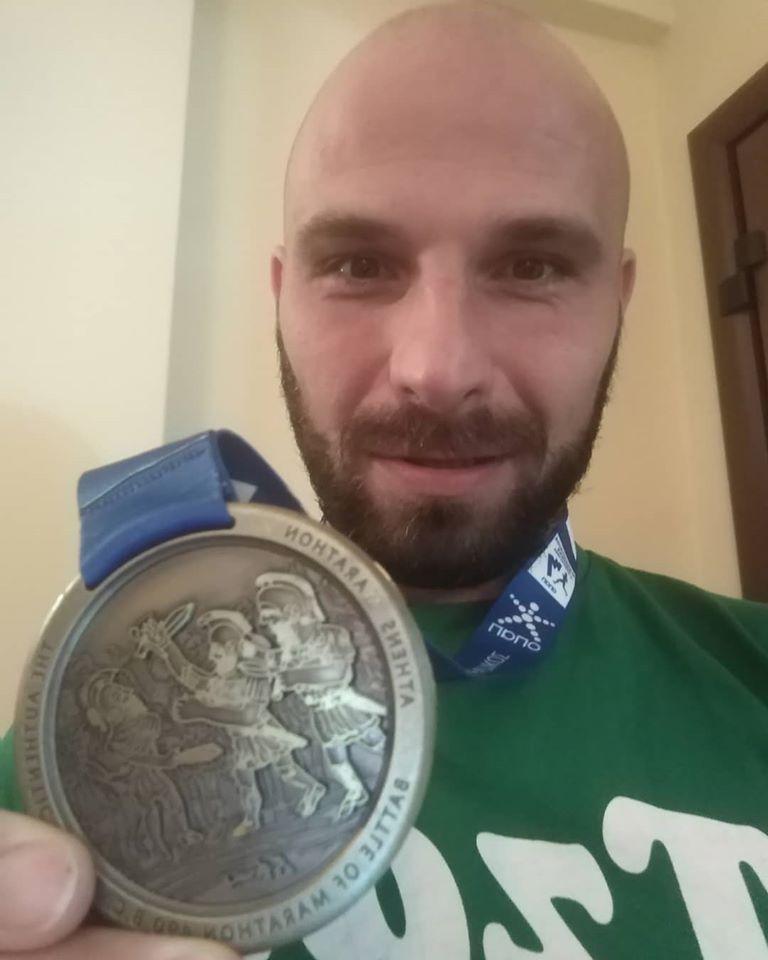 Александар Илић истрчао Атински маратон !