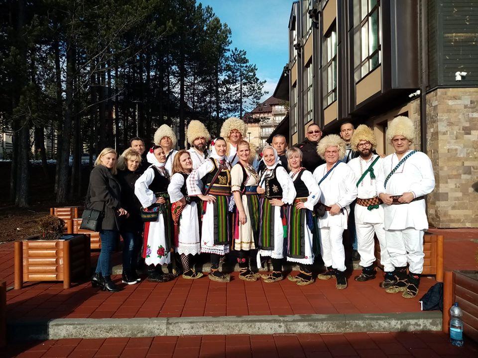"""KUD """"Štule"""" iz Voluje blistao na 9. Međunarodnom  festivalu veterana folklora održanom na  Zlatiboru"""