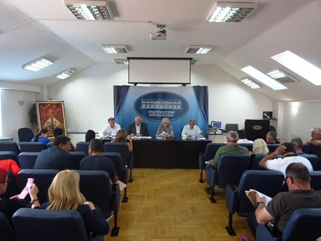 Седница Скупштине општине у понедељак 16. децембра