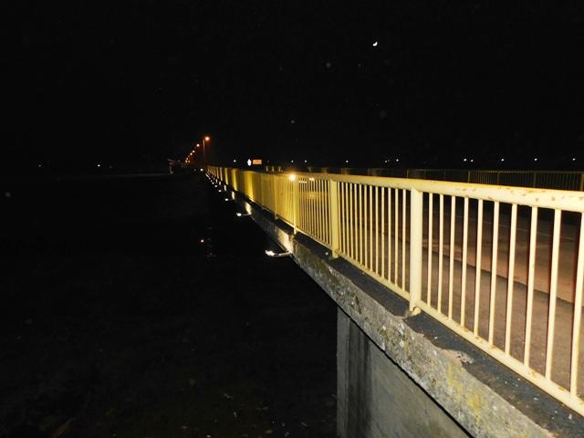 У нову годину са новим освтљењем моста на Пеку