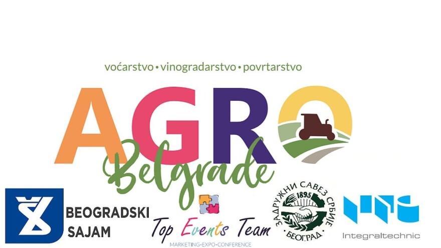 Lokalna samouprava poziva poljoprivrednike na Agro Belgrade 2020 – 1. Međunarodni sajam voćarstva, vinogradarstva i povrtarstva, Beograd 30.januar-01. Februar