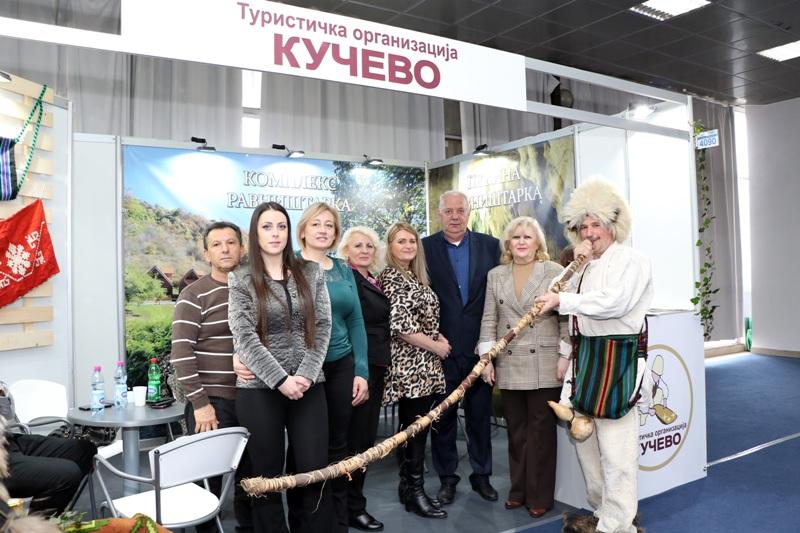 """Штанд Туристичке организације """"Кучево""""међу најпосећенијим на 42. Међународном сајму туризма"""