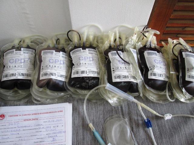Среда 15. јул : Летња акција добровољног давања крви