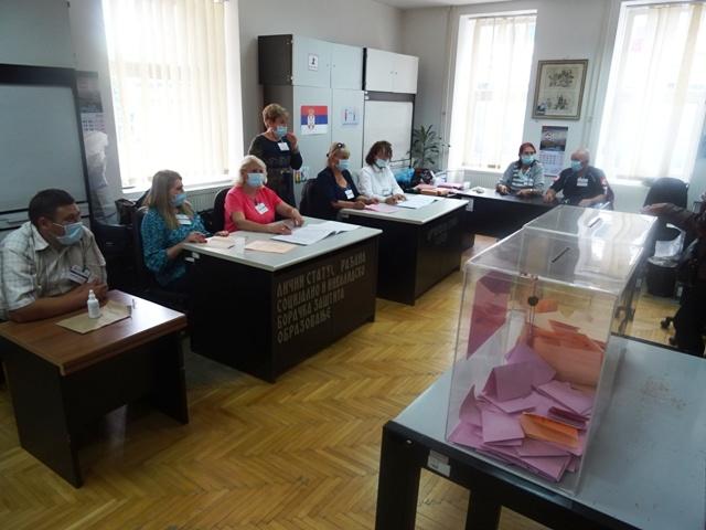 Изборни дан у Кучеву : Изласност у 15:00 часова 34%