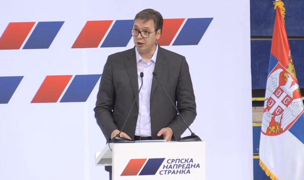 Председник СНС Александар Вучић најавио чистку у редовима напредњака