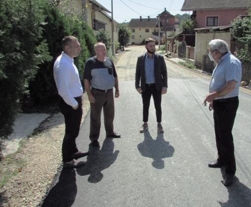 Read more about the article Радови на реконструкцији пута Турија-Ракова Бара – Тумане по плану