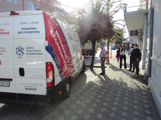 У сусрет потребама грађана – Мобилна експозитура Поштанске штедионице данас у Кучеву