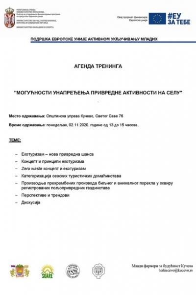 Agenda 13-15