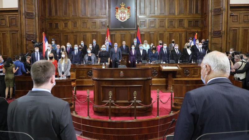 Народна Скупштина изабрала нову Владу Србије