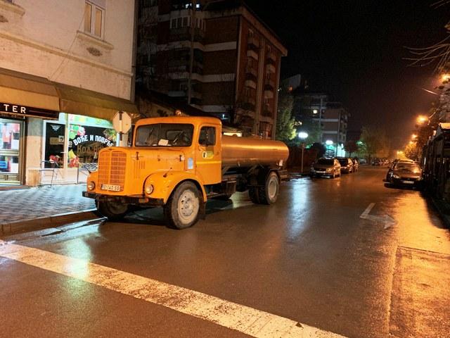 Цистерна са дезинфекционим средством у четвртак у Каони, Турији, Раковој Бари и Љешници