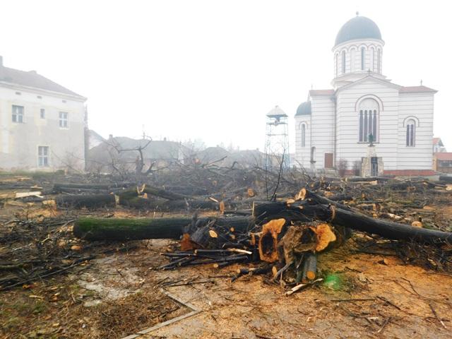 Уређује се порта храма Светог Вазнесења Господњег у Кучеву