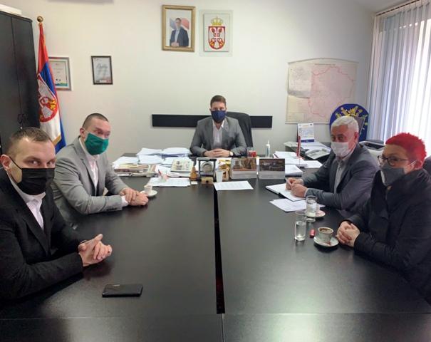 Саша Ђорђевић, високи функционер у Влади Србије, посетио Кучево