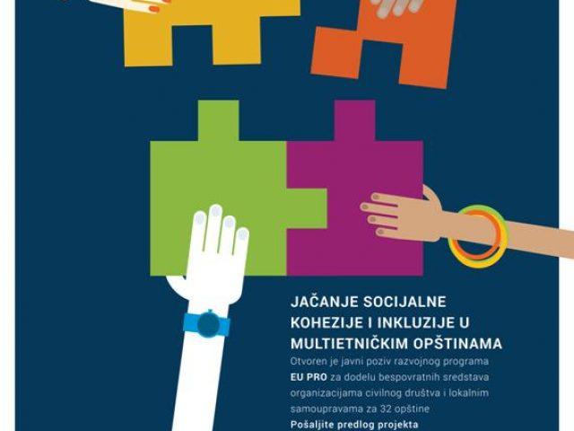 Slažemo se -javni poziv za unapređenje socijalne kohezije