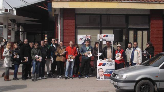 Кучево – Председничка кампања 2017. у знаку Александра Вучића