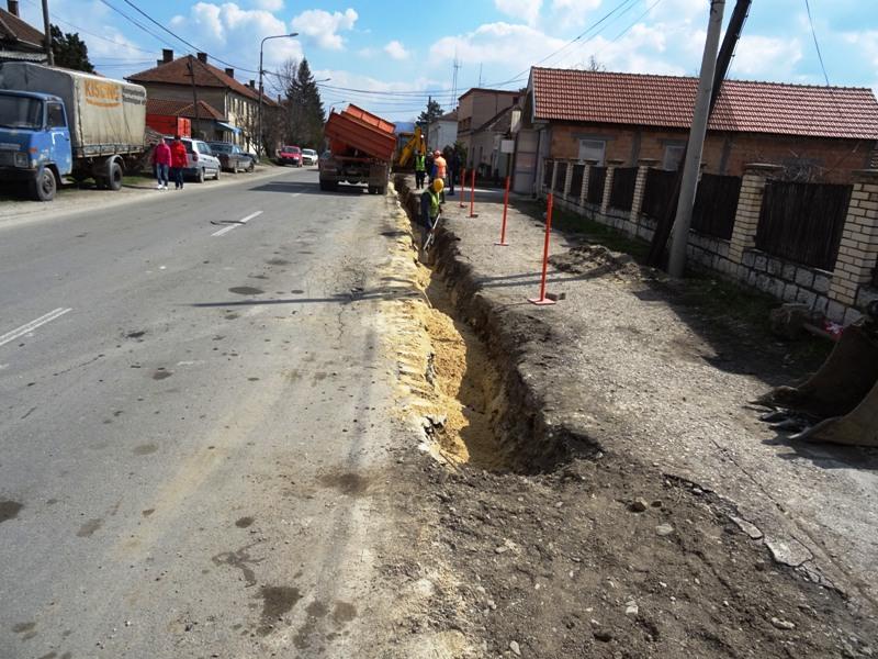 Нова водоводна мрежа за улице Жике Поповића и Ослобођења