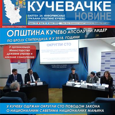 Кучевачке новине 28. пут