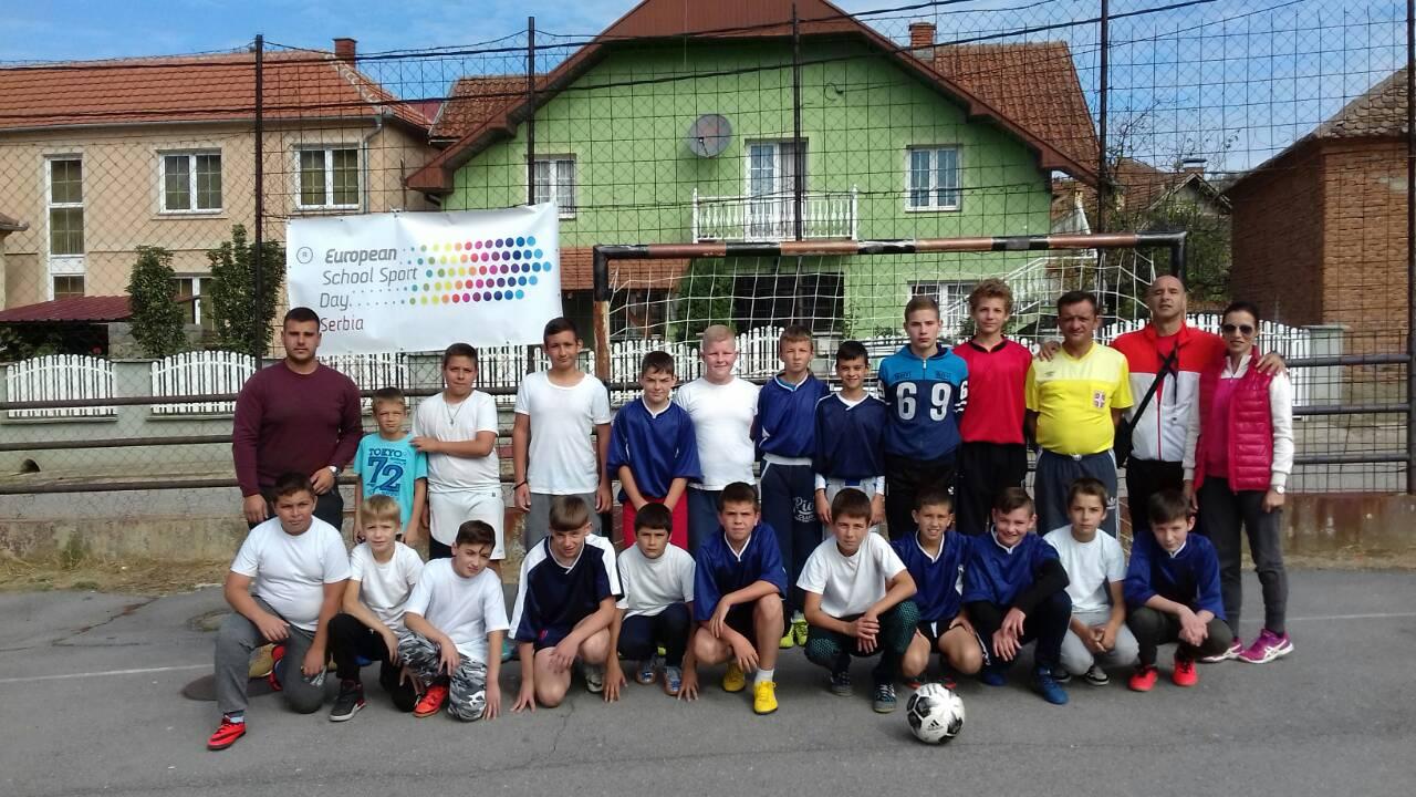 "OŠ ""Milutin Milanković"" Rabrovo obeležila ""Evropski školski dan sporta"""
