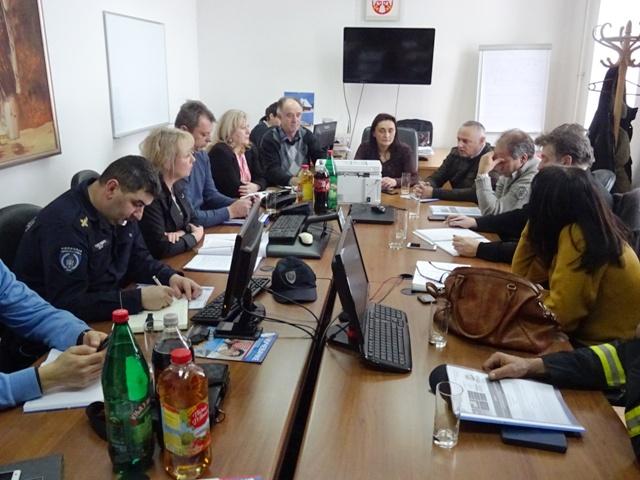 Одржана седница Штаба за ванредне ситуације по хитном поступку