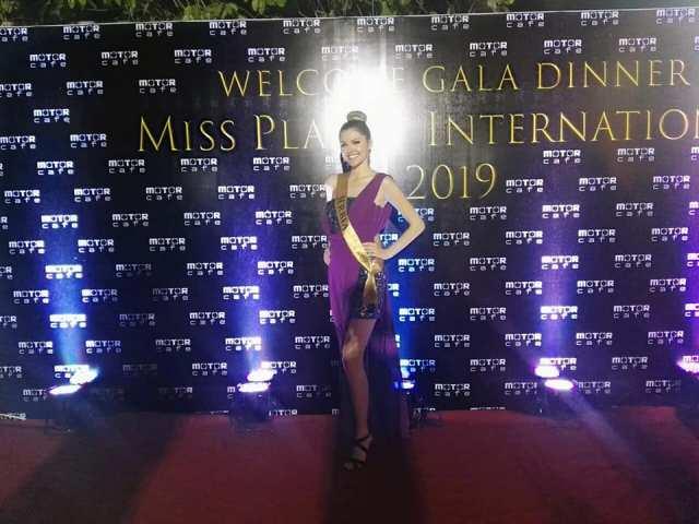 Tamara na izboru za Miss planet u Kambodži