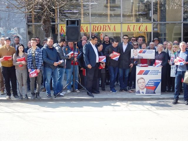 OO SNS Kučevo najoštrije osuđuje napade na porodicu predsednika Aleksandra Vučića