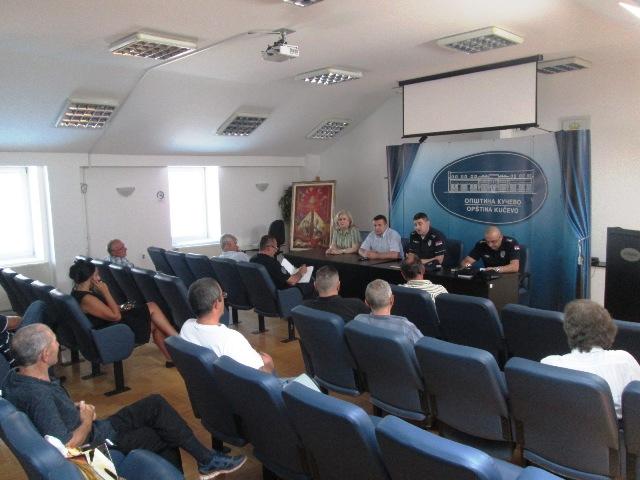 Одржан састанак Савета за безбедност са председницима Месних заједница
