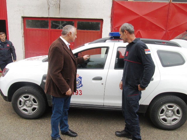 Ново теренско возило за потребе Ватрогасно спасилачке јединице Кучево