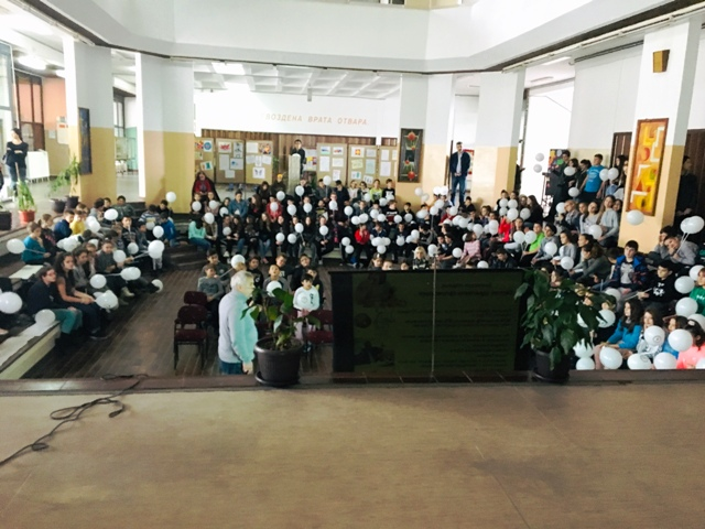 """Предавање о правилној исхрани за ђаке у Кучеву под називом """"Свет без глади"""""""