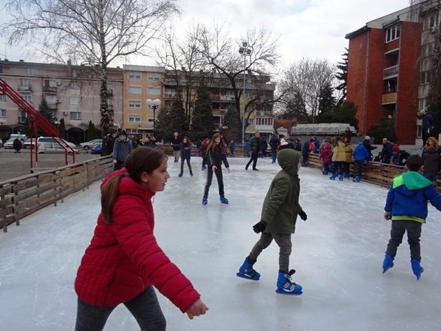 Турија плеше на леду