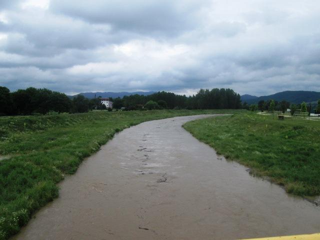 Повишен водостај Пека, у неким деловима дошло до изливања