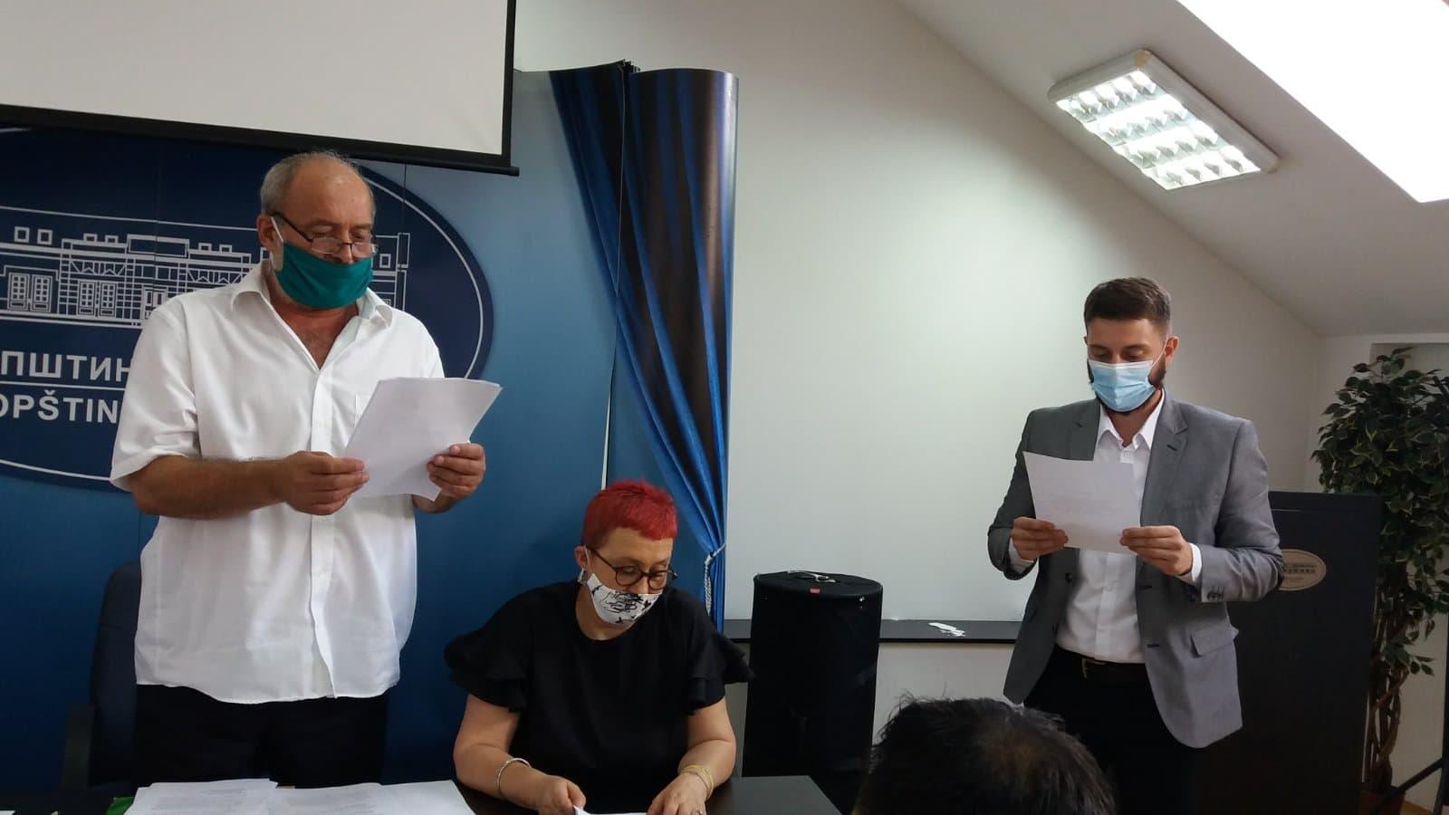 Одржана конститутивна седница СО Кучево – др Иван Рајичић нови председник општине