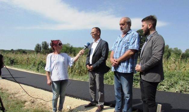 600 метара новог асфалта за засеок Волујски Кључ у МЗ Волуја