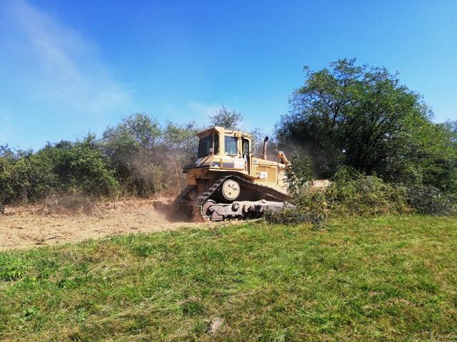 У току су радови на реконструкцији атарског пута Кисела вода -Поноре Краку лу Чокањ