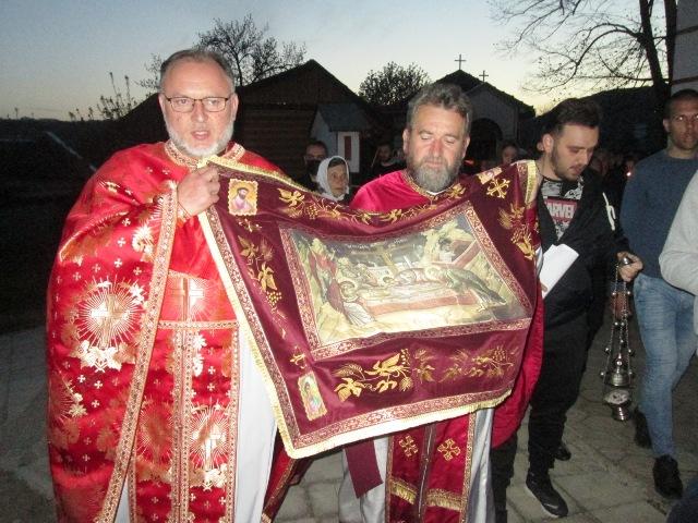 Изношење ПЛАШТАНИЦЕ у храму Светог Вазнесења Господњег у Кучеву